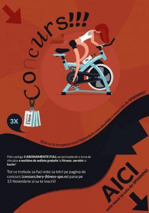CASTIGATORII: Concurs Lansare Spinning 2016