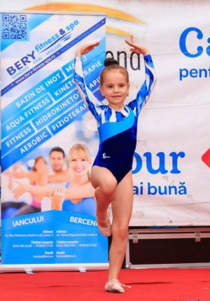Demonstratie de gimnastica in Grand Arena