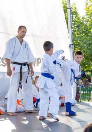 Kyokushin style-In Parcul Tineretului
