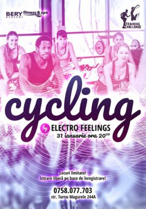 Cycling by Electro Feelings cu Chi Pah si Ruxandra Bunea