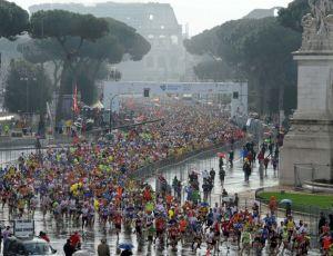 Andrei Gligor si Bery Fitness & Spa - Roma Marathon